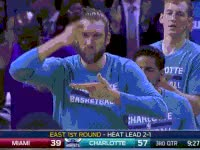 Watch and share Eat, We Eating, Eating, Spencer Hawes GIFs on Gfycat