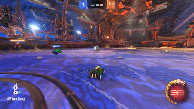 Watch Goal 6: Killua GIF by Gif Your Game (@gifyourgame) on Gfycat. Discover more Gif Your Game, GifYourGame, Killua, Rocket League, RocketLeague GIFs on Gfycat