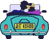 """Watch and share """"animated-just-married-image-0006"""" animated stickers on Gfycat"""
