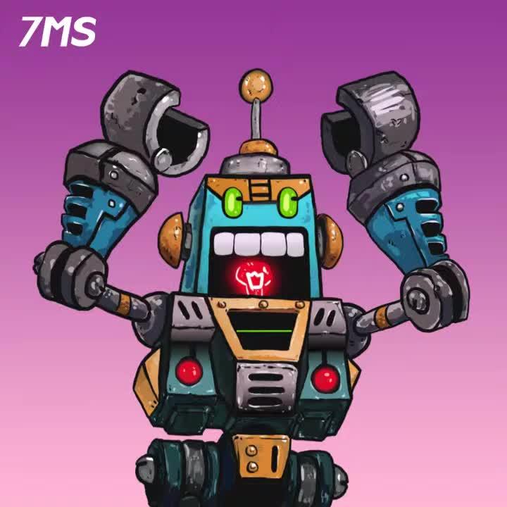 Gaming, animation, hearthstone, motiongraphics, 토트넘정말싫어, 하스스톤 야유로봇 (hearthstone hecklebot) GIFs