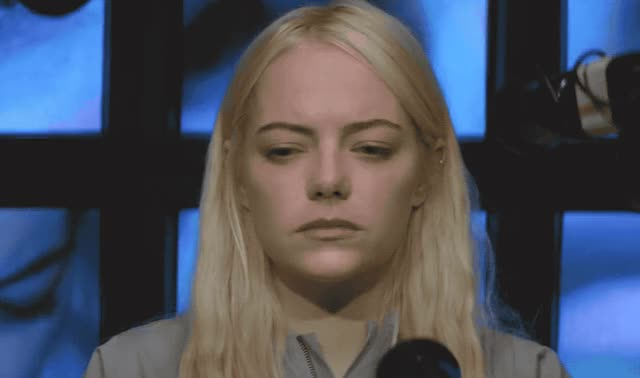 Watch this emma stone GIF by ioanna on Gfycat. Discover more around, awkward, blush, confused, embarrassed, emma, emma stone, film, look, maniac, netflix, new, scared, shy, stone, uncomfortable, well, worried, worry, wtf GIFs on Gfycat