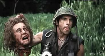 Watch reverse tropic thunder ben stiller GIF on Gfycat. Discover more related GIFs on Gfycat