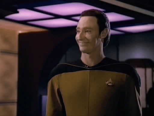 brent spiner, lore, star trek, tng, When you let your little brother play your favorite game and he accidentally deletes the save file GIFs