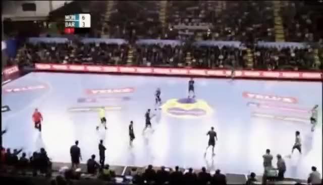 Watch and share Handball GIFs and Funny GIFs on Gfycat