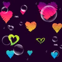 Watch and share Falling Bubbles &Hearts GIFs on Gfycat