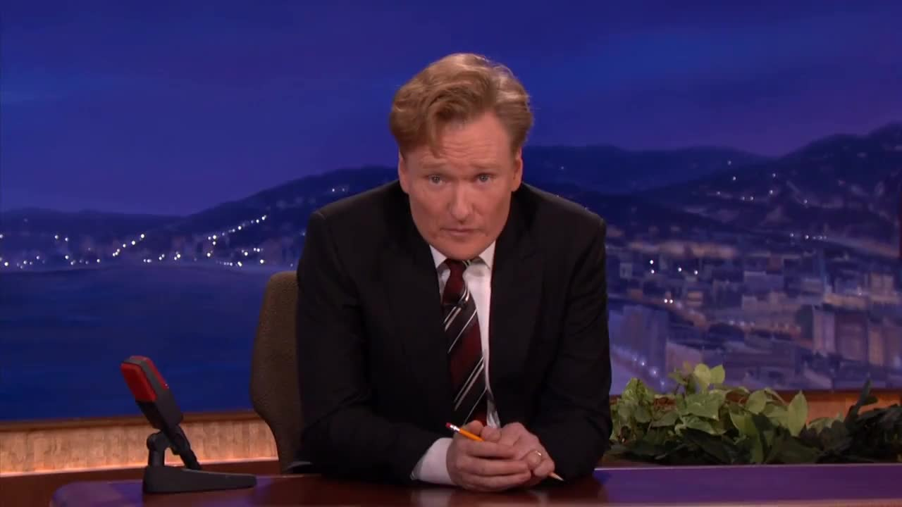 celebs, conan, conan o'brien, conan agree GIFs