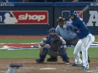 Watch and share Blue Jays, Jays, Mlb, Bat Flip Baseball, Toronto GIFs on Gfycat