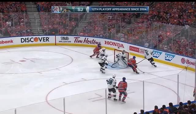 Watch and share Lucic, Kassian Hit Schlemko GIFs by cultofhockey on Gfycat