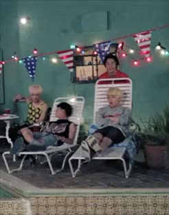 Watch Gongchan pushing Sandeul to the pool GIF on Gfycat. Discover more b1a4, gongchan, sandeul, solo day GIFs on Gfycat
