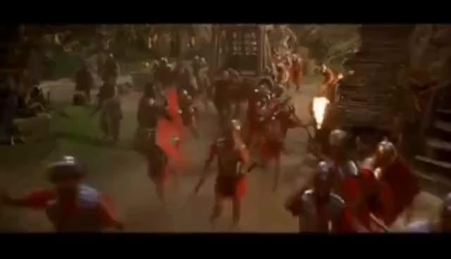 Watch and share Astérix & Obélix Contre César -  Les Clones GIFs on Gfycat