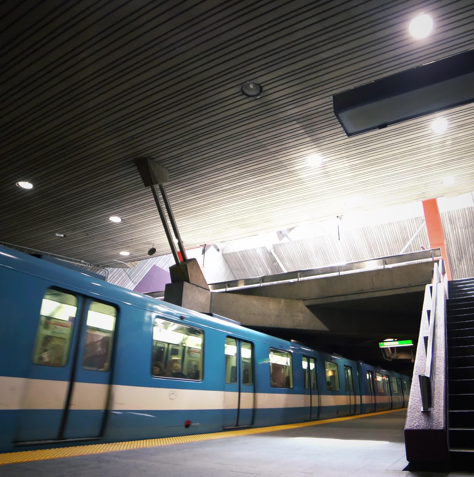 Montreal Metro Loop #16 GIFs