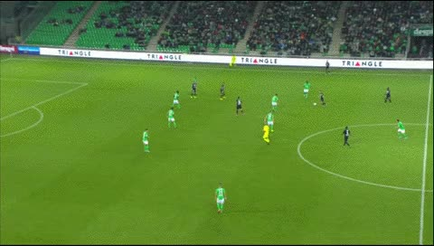 Watch and share Hatem Ben Arfa. Saint-Etienne - Nice. 2015-16 GIFs by fatalali on Gfycat