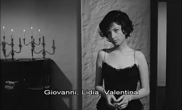 Watch and share La Notte Trailer, 1961 GIFs on Gfycat