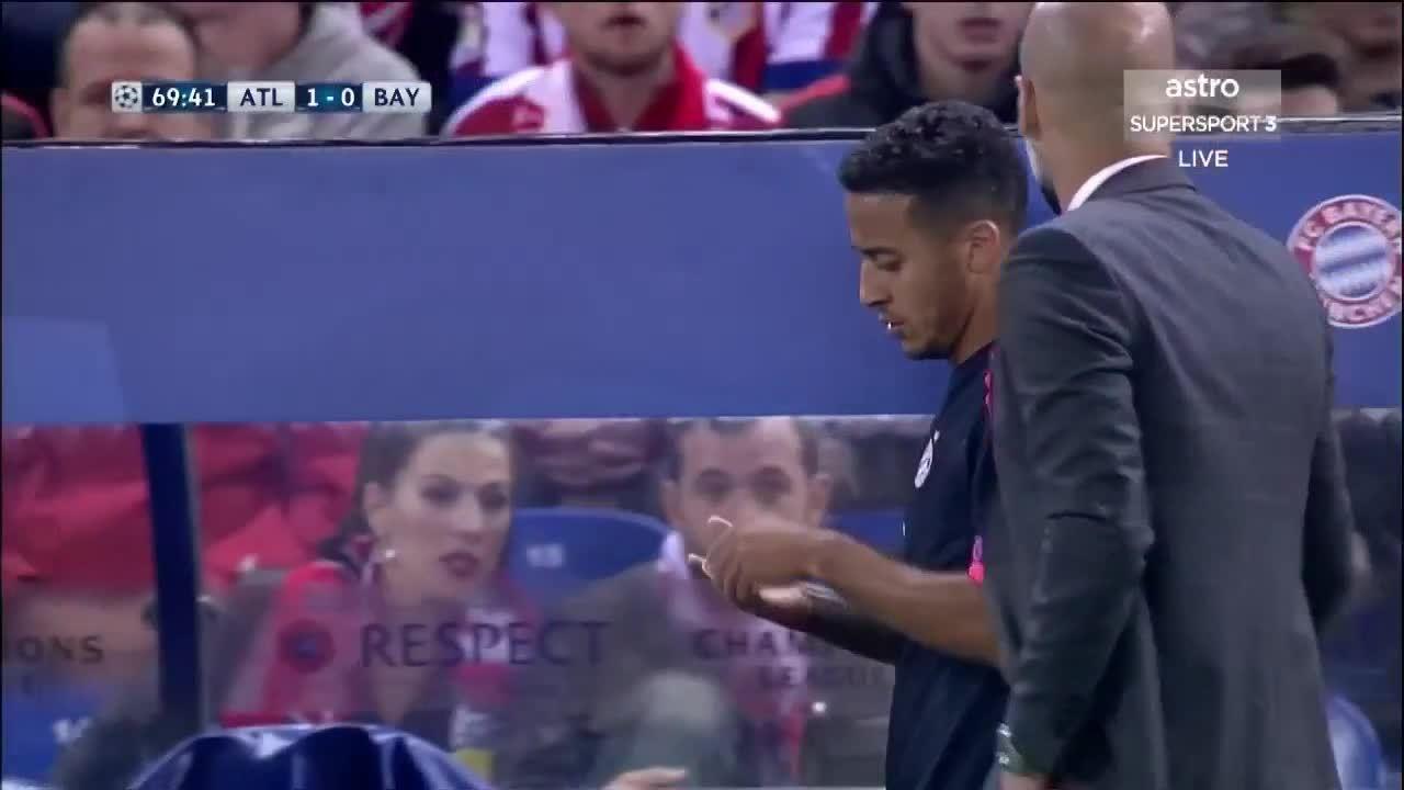 fcbayern, Atletico Madrid v Bayern Munich 27-04-2016 Second Half HD.mp4 - WeShare GIFs