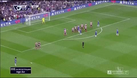 Watch and share Willian. Chelsea - Southampton. 03.10.2015 GIFs by fatalali on Gfycat