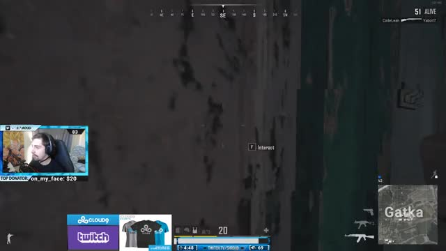 shroud Playing PLAYERUNKNOWN'S BATTLEGROUNDS - Twitch Clips