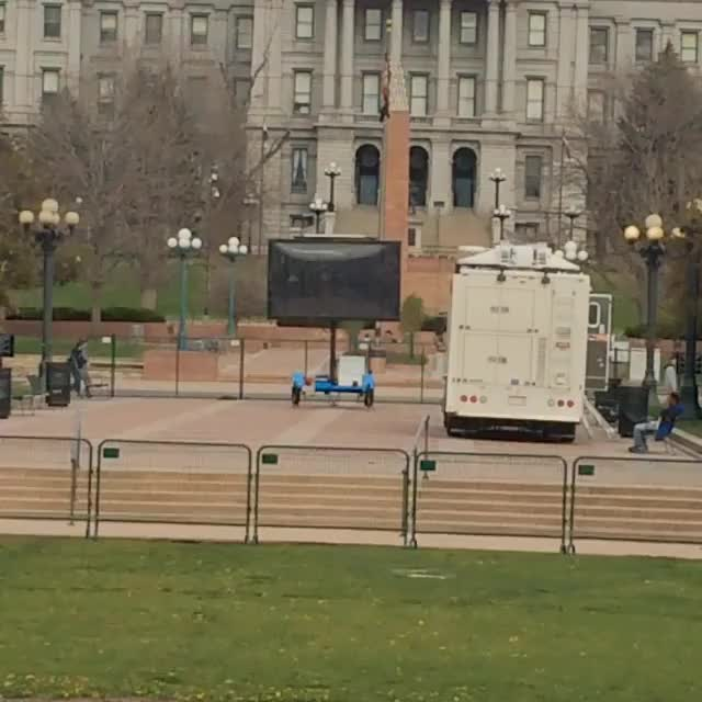 Watch Outside the 420 Rally at Civic Center today (reddit) GIF on Gfycat. Discover more denver GIFs on Gfycat