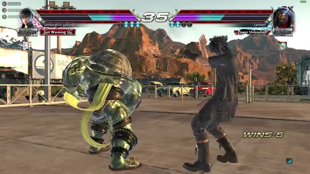 Watch and share Tekken GIFs by braindone on Gfycat