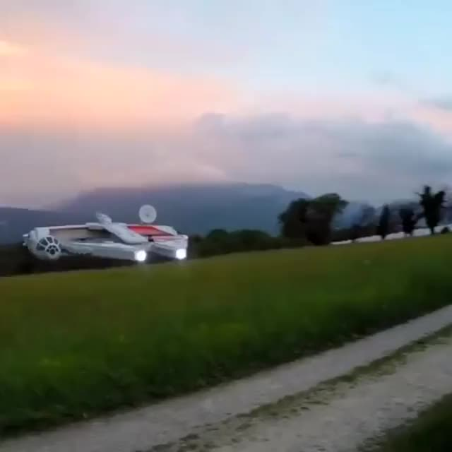 Watch and share The Millennium Falcon Drone GIFs by heun3344 on Gfycat