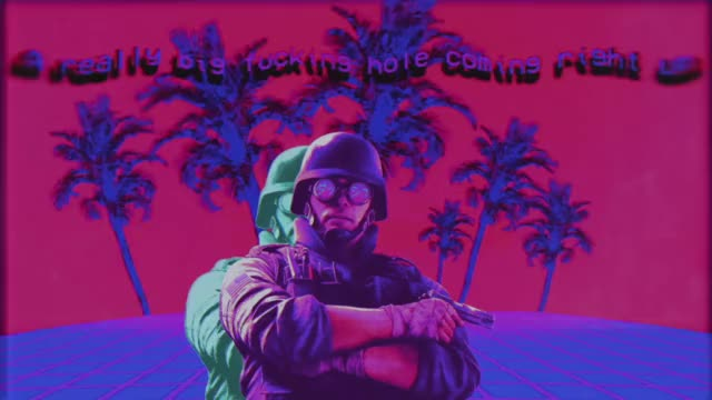 Watch VAPORWAVE THERMITE GIF on Gfycat. Discover more Rainbow6, katinko GIFs on Gfycat