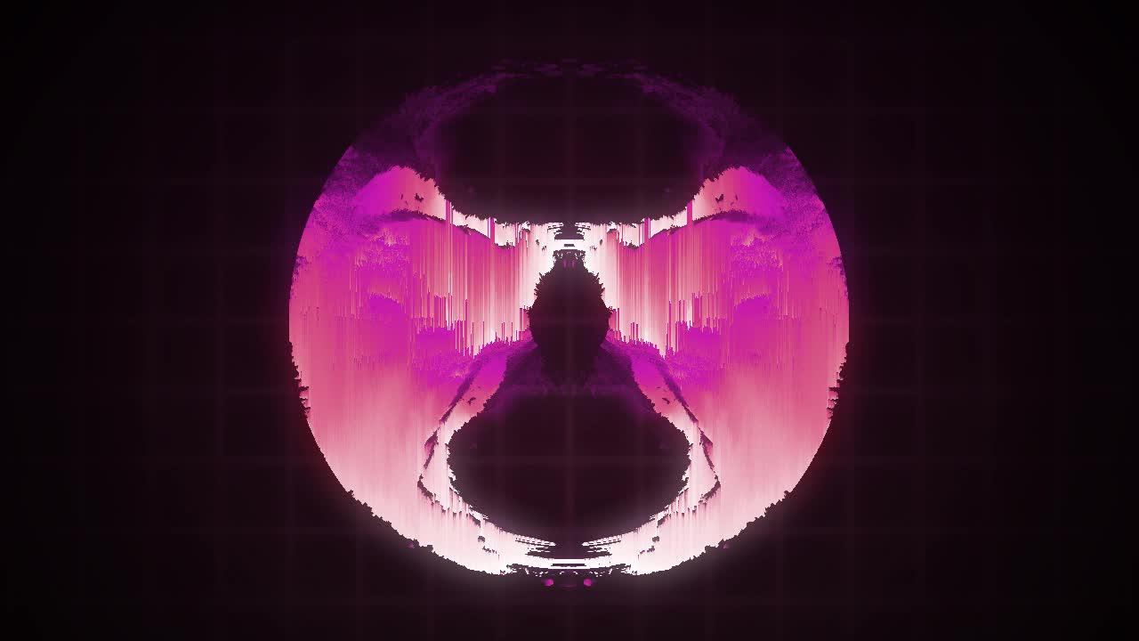 crazy magic glitch eye GIFs