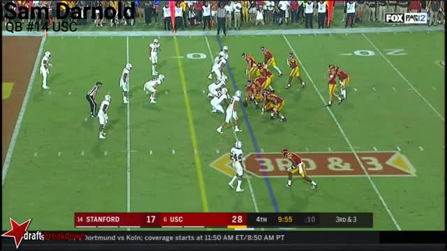 Watch and share Sam Darnold Touch TD GIFs by markbullock on Gfycat