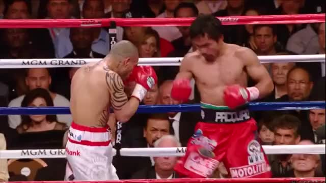 Watch Miguel Cotto lands an uppercut through Manny Pacquiao's guard GIF by @boxinggfycat on Gfycat. Discover more related GIFs on Gfycat