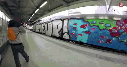 Watch and share Graffiti GIFs and Train GIFs by SKEZ520 on Gfycat
