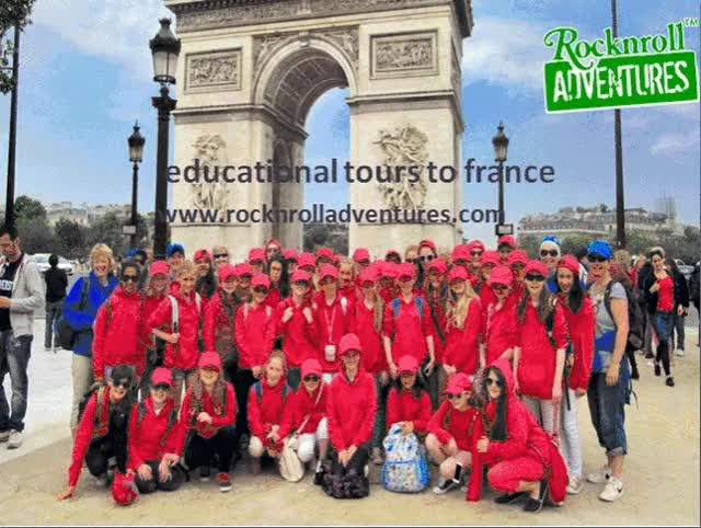 Watch Educational Tours To France | France Educational Tours GIF by RocknRoll Adventures Ltd (@rocknroll) on Gfycat. Discover more france educational  tour, france educational trips GIFs on Gfycat