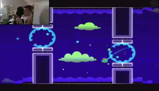 Watch and share Geometry Dash GIFs on Gfycat