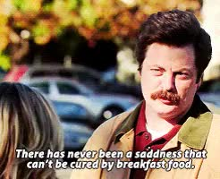 Watch this breakfast GIF on Gfycat. Discover more breakfast, nick offerman, parks and rec, parks and recreation, ron swanson GIFs on Gfycat