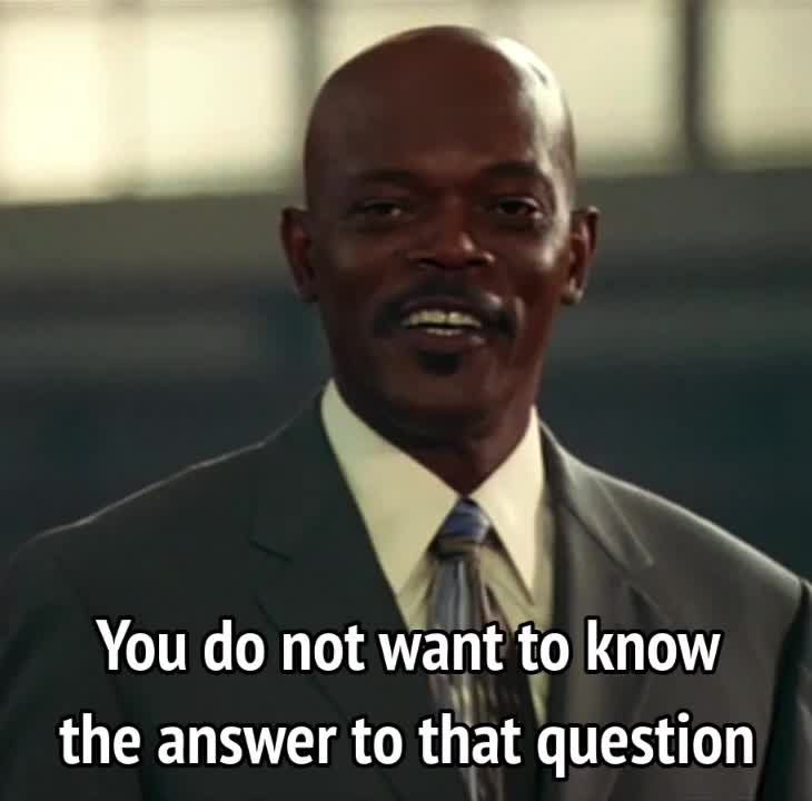 celebs, samuel l jackson, Coach Carter - you do not want to know the answer to that question GIFs