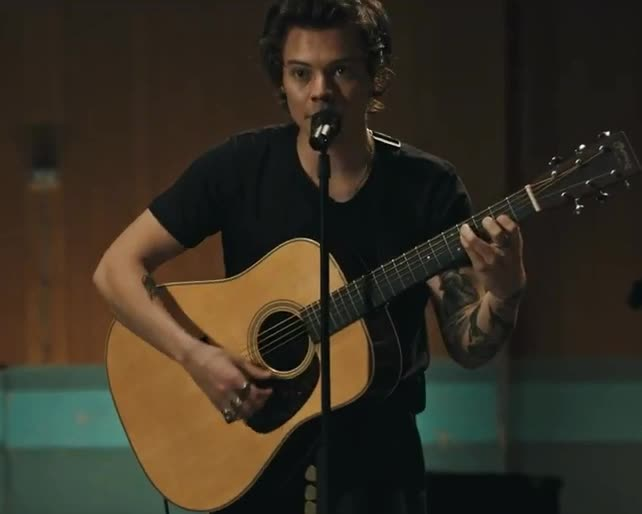 GIF Brewery, acoustic, cute, ghosts, gif brewery, guitar, harry, harry styles, hot, hunk, music, new, song, styles, two, Harry Styles - Two ghosts GIFs