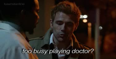 Watch Wreck-Age GIF on Gfycat. Discover more constantine, hellblazer, john constantine, manny, save constantine GIFs on Gfycat
