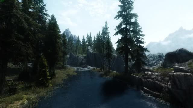 Watch Skyrim GIF by @ahdpotato on Gfycat. Discover more enb, river, skyrim GIFs on Gfycat