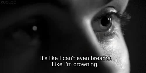 Watch and share Don't Let Me Drown GIFs and Depressing Quotes GIFs on Gfycat