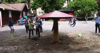 """Watch and share """"Kid Vs Conservation Of Angular Momentum"""" - /u/noir_lord (x-post /r/gifs) (reddit) GIFs on Gfycat"""