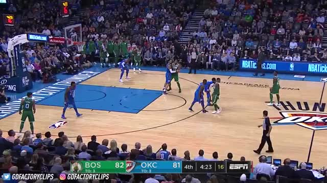Watch Kyrie Irving SICK Full Highlights vs Thunder (2017.11.03) - 25 Pts, CRAZY 4th Qtr, CLUTCH! GIF on Gfycat. Discover more basketball, cavaliers, cleveland, golden state, nba, rockets, sports, thunder okc, warriors, world GIFs on Gfycat