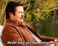 Watch knowledge GIF on Gfycat. Discover more nick offerman GIFs on Gfycat