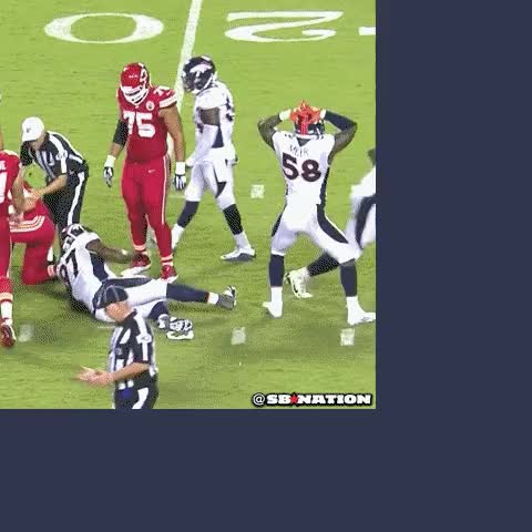 Watch and share I Made This Last Night, But I Was Shadowbanned By A Vast Butthurt Patriot Fan Conspiracy, So You Didn't See It. GOOO BRONCOS. (reddit) GIFs on Gfycat
