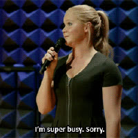 amy schumer, busy,