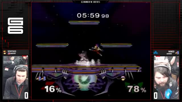 Schythed vs C9 Mang0 | double knee
