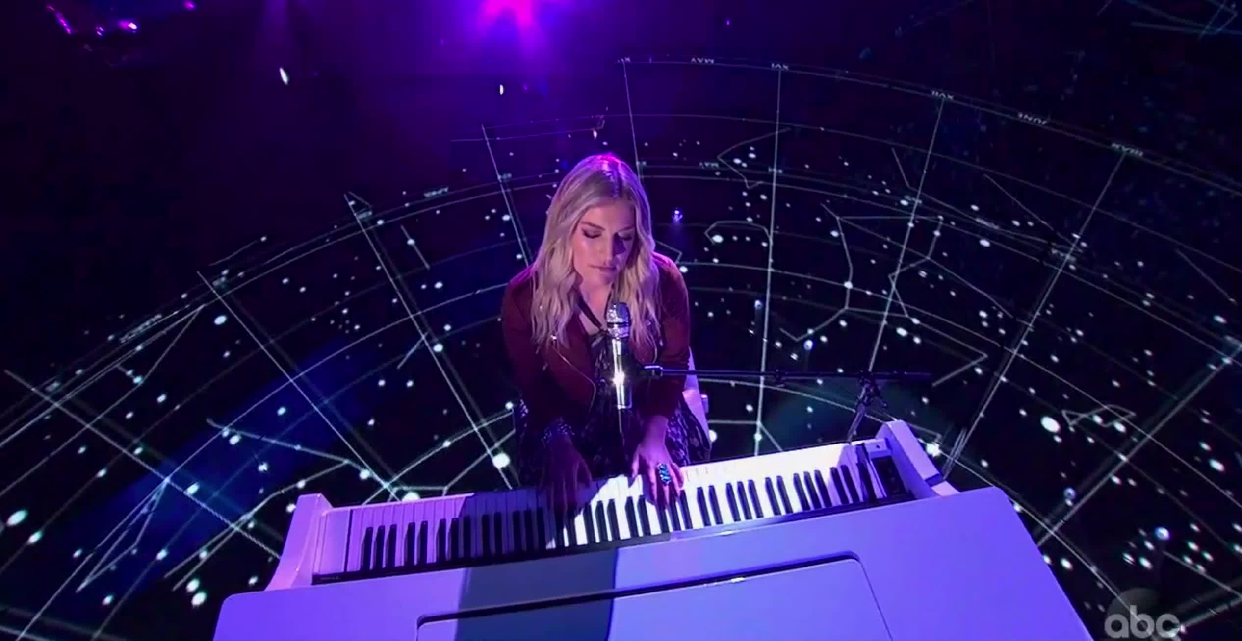 american idol, american idol season 17, americanidol, ashley hess, katy perry, lionel richie, luke bryan, ryan seacrest, season 17, singing, American Idol Ashley Sings Coldplay GIFs