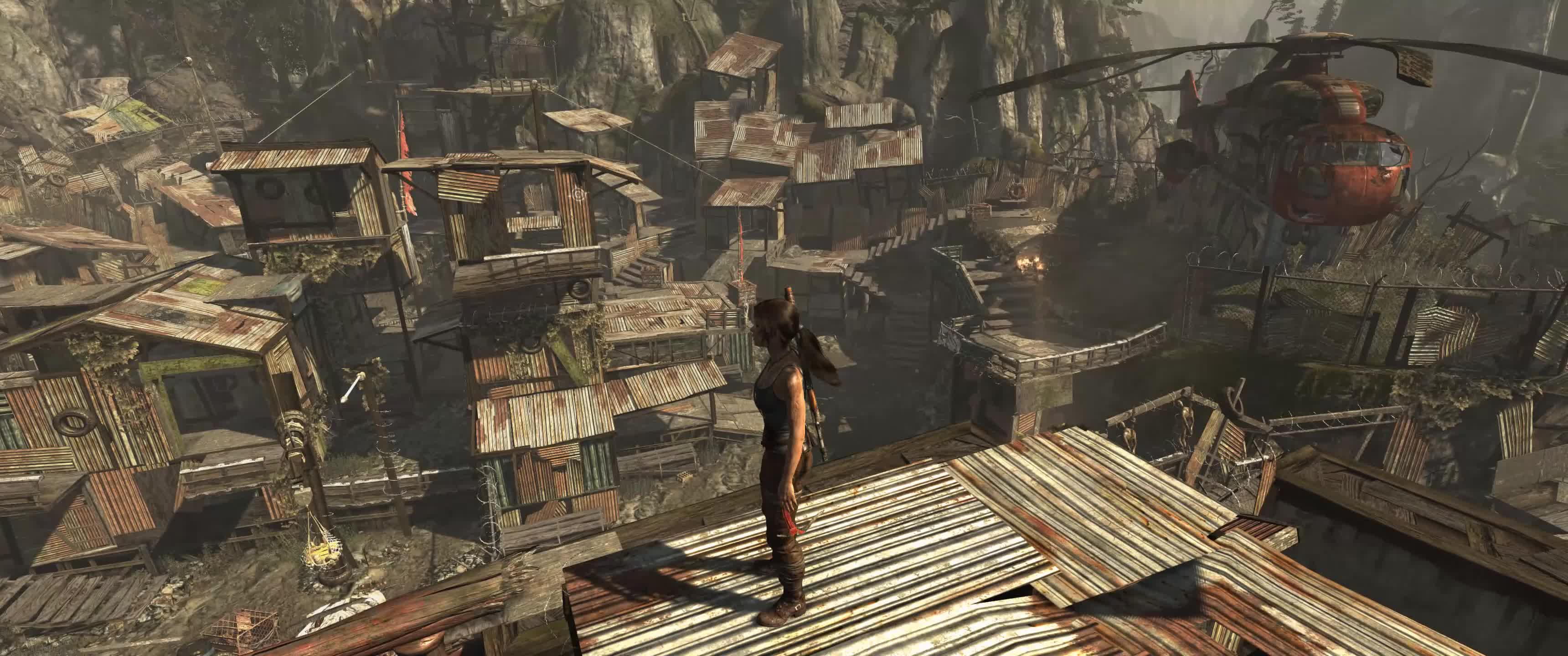 Tomb Raider 2013 Utra Wide Maxed Out Gif By Dread3ddie Gfycat