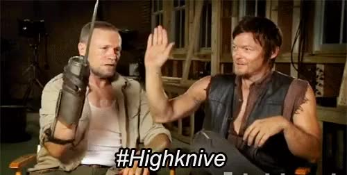 Watch and share The Walking Dead GIFs and Michael Rooker GIFs on Gfycat