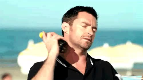Watch and share Hugh Jackman GIFs on Gfycat
