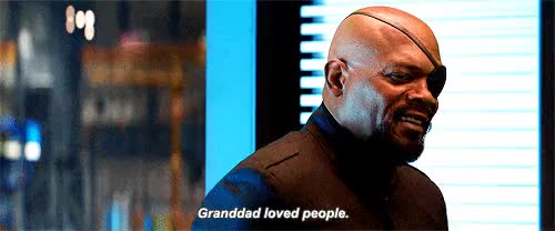 Watch and share Samuel L Jackson GIFs and Nick Fury GIFs on Gfycat