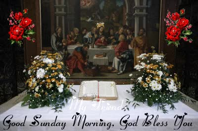 Watch and share Good Sunday Morning God Bless You GIFs on Gfycat