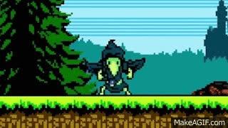 Shovel Knight: Plague of Shadows: - ¡Se presenta Plague Knight! - A golpe de pala #10 GIFs