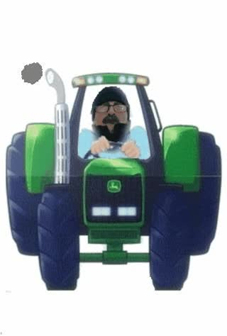 Watch and share Farmer On Tractor Gif  Made This Sheet Farmer Gif , And Maybe You Can Use It , For Your First Selfmade Animation. GIFs on Gfycat